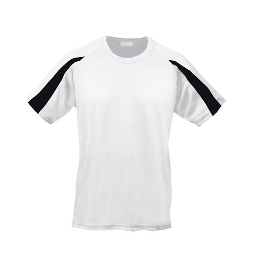 Kids Contrast Cool T [7/8 (M)] (Arctic white / Jet black) (Art.-Nr. CA638813)