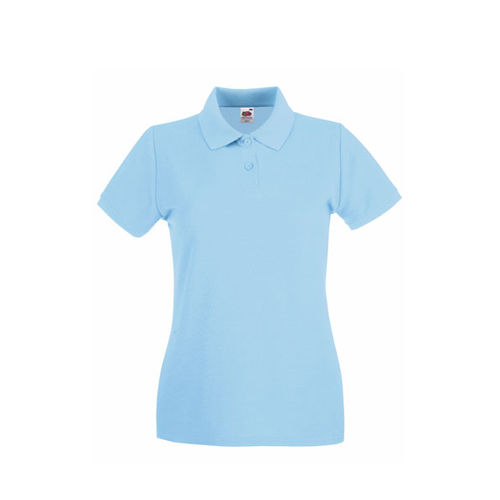 Premium Polo Lady-Fit [S] (Sky blue) (Art.-Nr. CA646139)