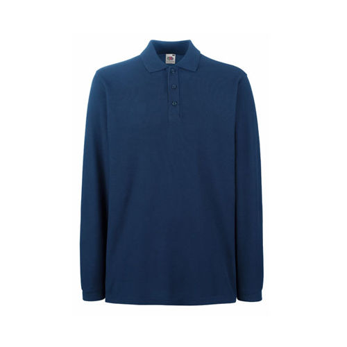 Premium Long Sleeve Polo [3XL] (navy) (Art.-Nr. CA646255)