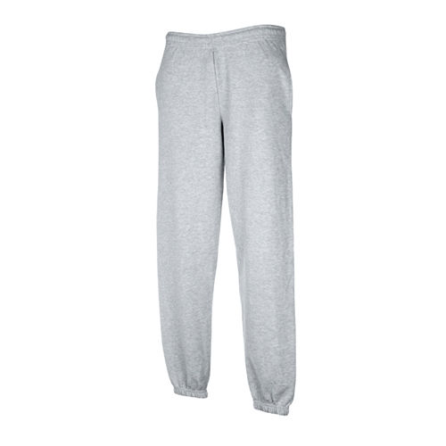 Premium Elasticated Cuff Jog Pants [M] (heather grey) (Art.-Nr. CA646301)