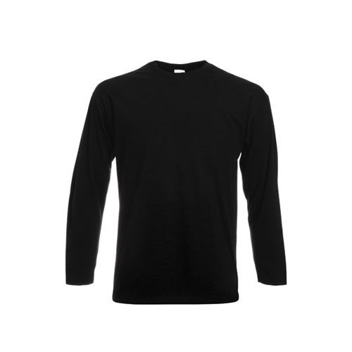 Valueweight Long Sleeve T [S] (black) (Art.-Nr. CA647590)