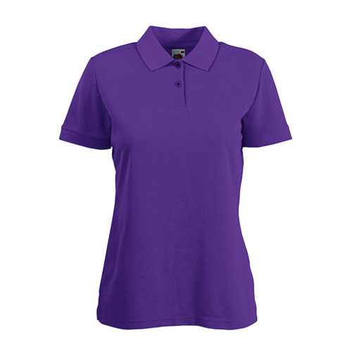 65/35 Polo Lady-Fit [XL] (Purple) (Art.-Nr. CA648782)