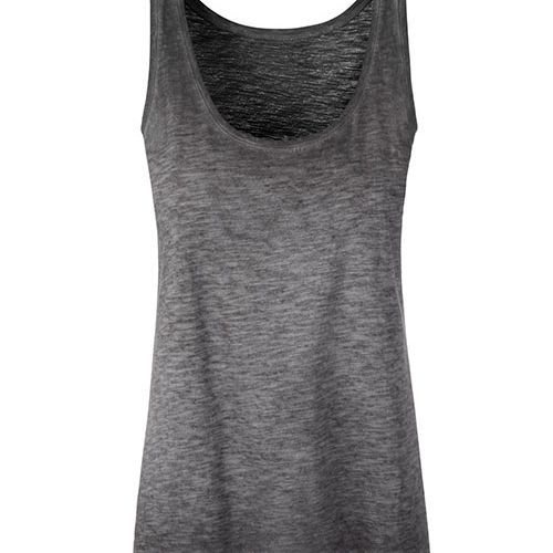 Ladies´ Slub-Top [M] (graphite (Solid)) (Art.-Nr. CA653603)