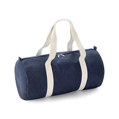Denim Barrel Bag [25 x 50 x 25 cm] (Denim Blue) (Art.-Nr. CA665726)