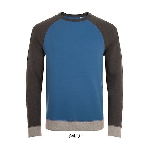 Sandro Sweat [XXL] (Slate blue / charcoal Melange) (Art.-Nr. CA691119)