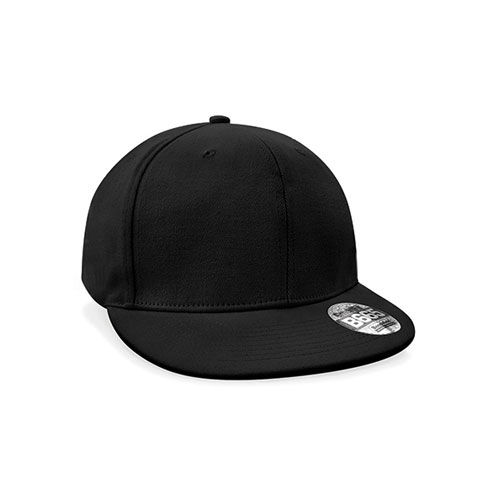 Pro-Stretch Flat Peak Cap [One Size] (black) (Art.-Nr. CA692093)