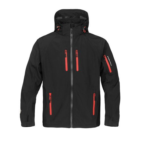 Expedition Softshell [L] (black / Flame red) (Art.-Nr. CA699859)