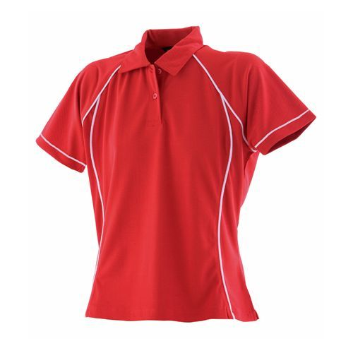 Ladies` Piped Performance Polo [S] (Art.-Nr. CA711125)