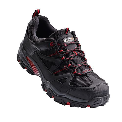 Riverbeck S1P Safety Trainer [46 (11)] (Black/Red) (Art.-Nr. CA715813)
