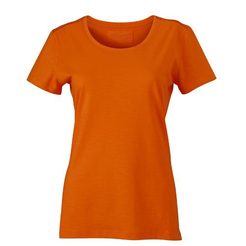 Ladies´ Urban T-Shirt [XL] (orange / navy) (Art.-Nr. CA716952)