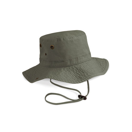 Beechfield Outback Hat [One Size] (Olive Green) (Art.-Nr. CA747063)