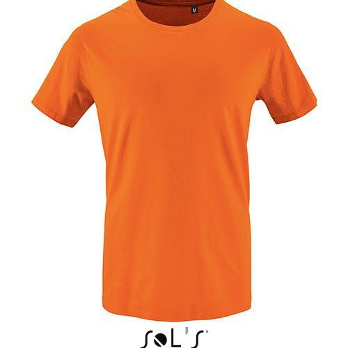Mens Short Sleeve T-Shirt Milo [XS] (orange) (Art.-Nr. CA748255)