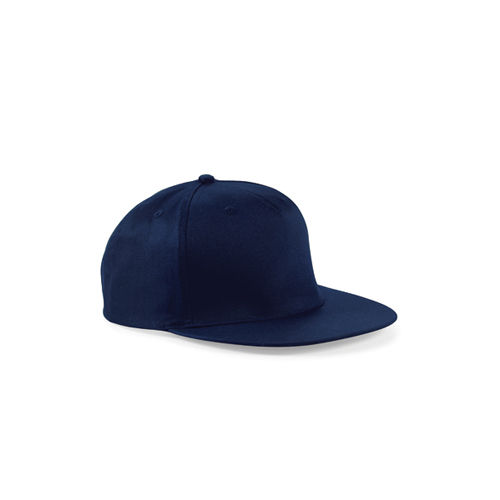 Beechfield 5-Panel Snapback Rapper Cap [One Size] (French Navy) (Art.-Nr. CA749852)
