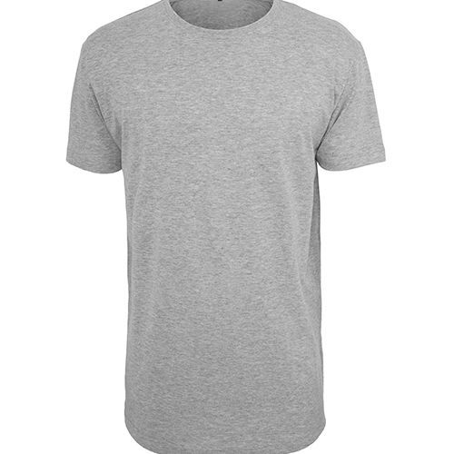 Shaped Long Tee [L] (heather grey) (Art.-Nr. CA762529)