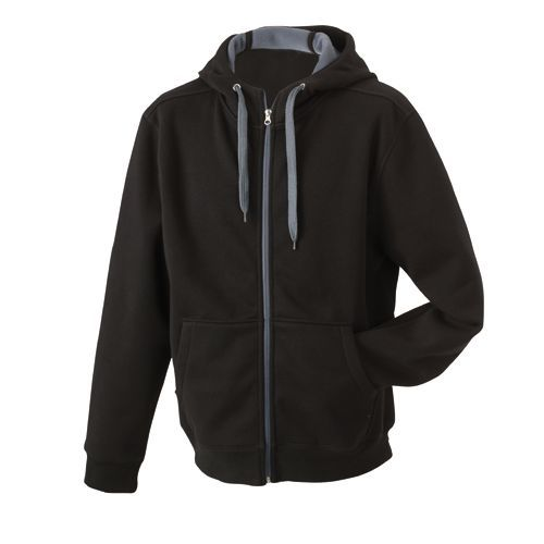 Men´s Doubleface Jacket [3XL] (black / carbon) (Art.-Nr. CA763306)