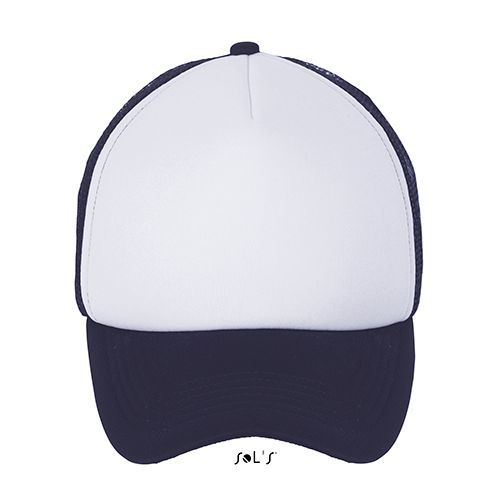 Bubble Cap [One Size] (white / french navy) (Art.-Nr. CA766895)