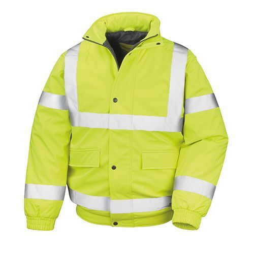 Result Safety Padded Softshell Blouson [S] (fluorescent yellow) (Art.-Nr. CA768970)