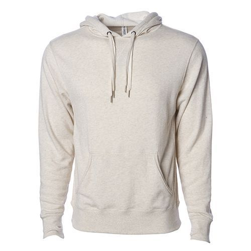 Unisex Midweight French Terry Hooded Pullover [XL] (Oatmeal Heather) (Art.-Nr. CA771669)