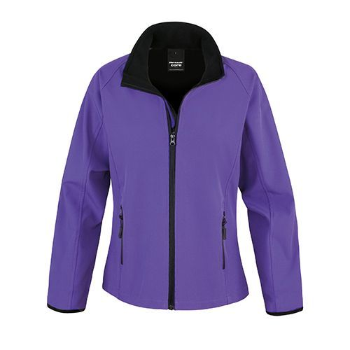 Ladies` Printable Soft Shell Jacket [M] (Purple) (Art.-Nr. CA772890)