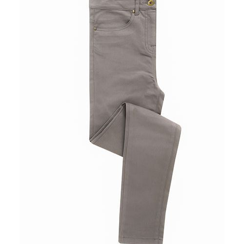 Ladies Performance Chino Jean [36 (8)/34] (Steel) (Art.-Nr. CA779908)