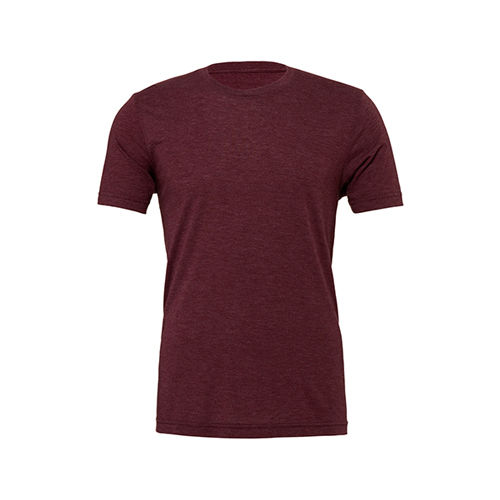 Unisex Triblend Crew Neck T-Shirt [XXL] (Maroon Triblend (heather)) (Art.-Nr. CA786607)