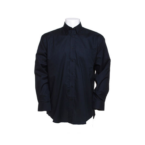 Men`s Classic Fit Workwear Oxford Shirt Long Sleeve [38 (15)] (french navy) (Art.-Nr. CA805316)
