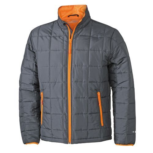 Men`s Padded Light Weight Jacket [S] (carbon) (Art.-Nr. CA805358)