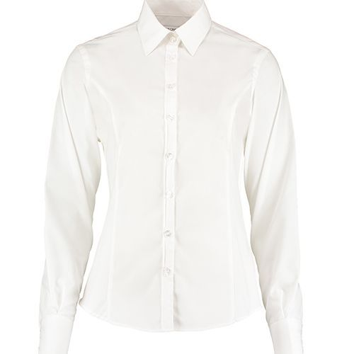 Tailored Fit Business Shirt Long Sleeve [38 (M/12)] (white) (Art.-Nr. CA835379)