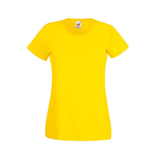 Fruit of the Loom Valueweight T Lady-Fit [XXL] (yellow) (Art.-Nr. CA852664)