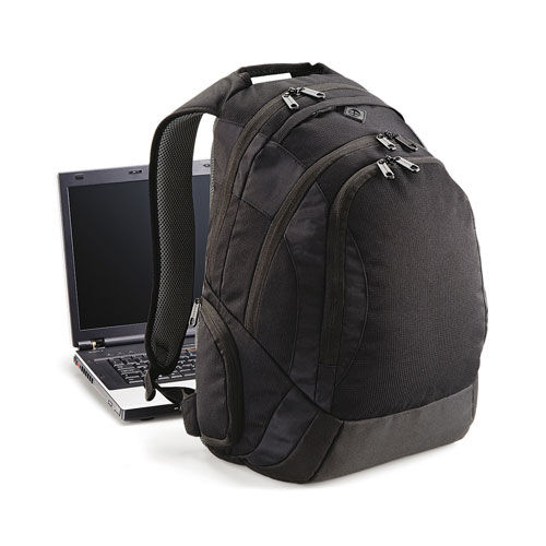 Vessel™ Laptop Backpack [30 x 48 x 30 cm] (Art.-Nr. CA853709) - 600D Mikro Ripstop Polyester | Gefütter...