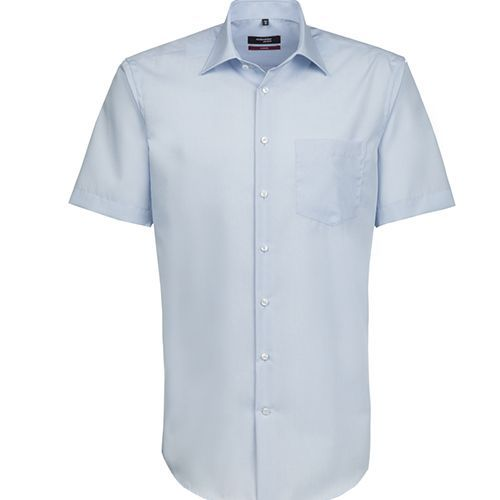 Mens Shirt Modern Fit Shortsleeve [41] (light blue) (Art.-Nr. CA868179)