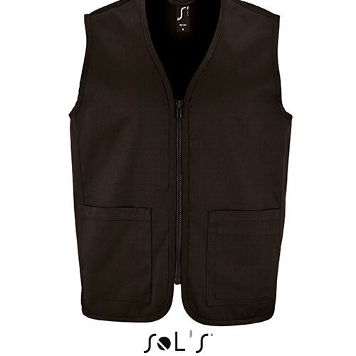 Unisex Bodywarmer Wallace [L] (black) (Art.-Nr. CA872439)