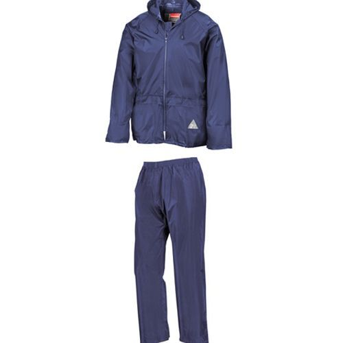 Waterproof Jacket & Trouser Set [S] (royal) (Art.-Nr. CA881617)