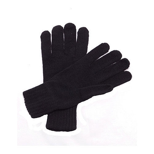 Knitted Gloves [One Size] (black) (Art.-Nr. CA890879)