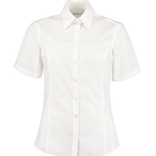Tailored Fit Business Shirt Short Sleeve [38 (M/12)] (white) (Art.-Nr. CA892898)