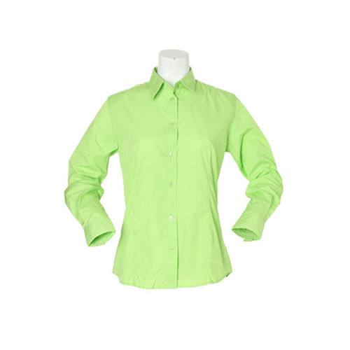 Women`s Classic Fit Workforce Shirt Long Sleeve [36 (S/10)] (lime) (Art.-Nr. CA892922)