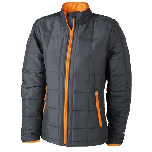 Ladies` Padded Light Weight Jacket [S] (Carbon) (Art.-Nr. CA901729)