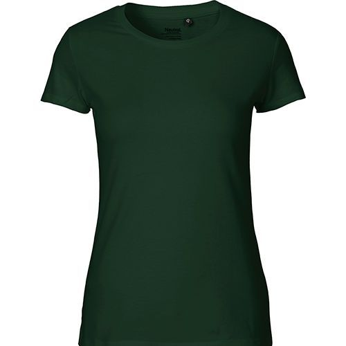 Ladies Fitted T-Shirt [XXL] (bottle green) (Art.-Nr. CA915602)