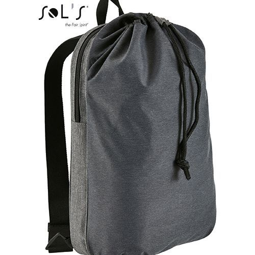 Dual Material Backpack Uptown [30, 5 x 51 x 15 cm] (Charcoal Melange) (Art.-Nr. CA922182)