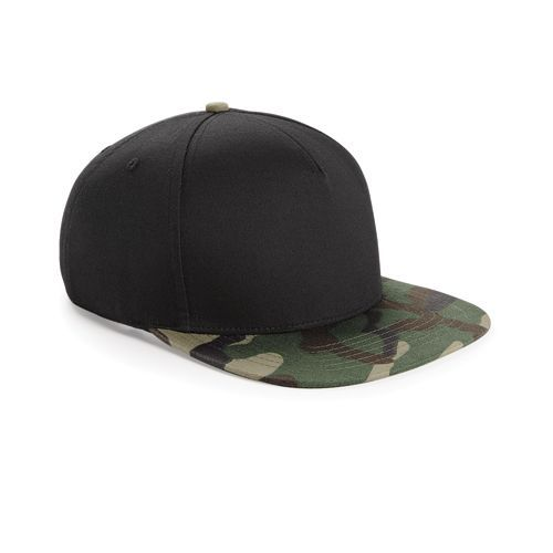 Camo Snapback [One Size] (black / Jungle Camo) (Art.-Nr. CA931894)
