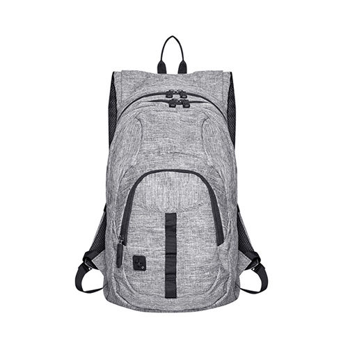 Outdoor Backpack - Grand Canyon [50 x 30 x 15 cm] (Art.-Nr. CA948713) - 600D Polyester Rucksack in Grey Melange...