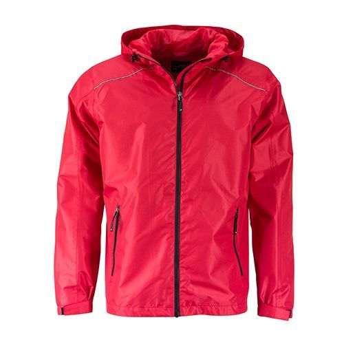 Mens` Rain Jacket [3XL] (Red/Black) (Art.-Nr. CA968825)