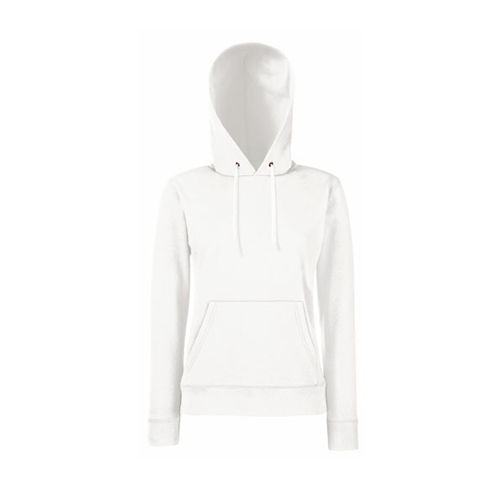 Classic Hooded Sweat Lady-Fit [XXL] (white) (Art.-Nr. CA974989)
