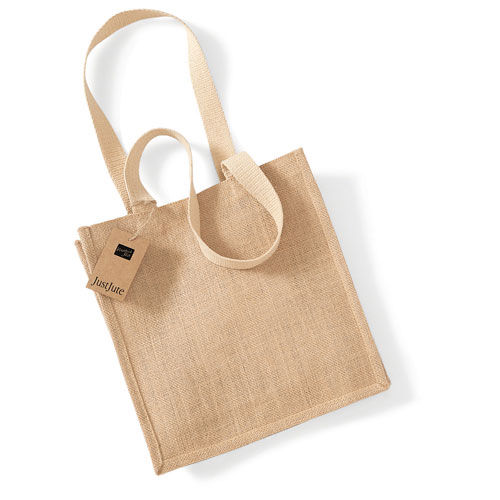 Jute Compact Shopper [30 x 30 x 12 cm] (Natural) (Art.-Nr. CA977024)