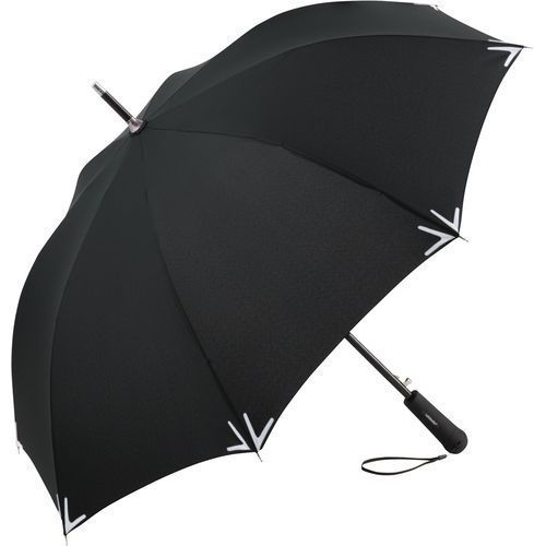 AC-Stockschirm Safebrella® LED (schwarz) (Art.-Nr. CA078323)