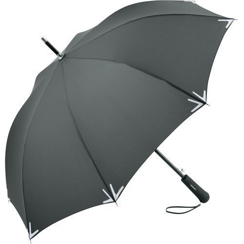 AC-Stockschirm Safebrella® LED (grau) (Art.-Nr. CA200359)
