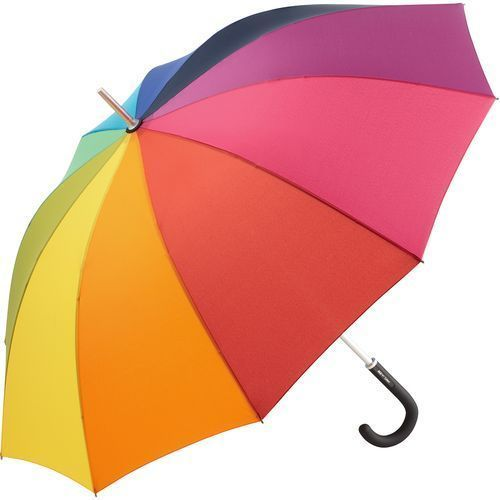 Midsize-Stockschirm ALU light10 Colori (regenbogen) (Art.-Nr. CA550398)