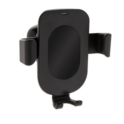 5W Wireless Charging Gravity Telefonhalter (schwarz) (Art.-Nr. CA023421)