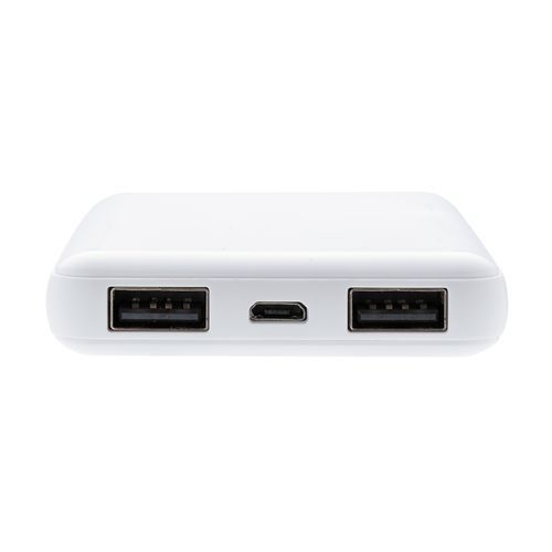 5.000 mAh antimikrobielle Powerbank (weiß) (Art.-Nr. CA067115)