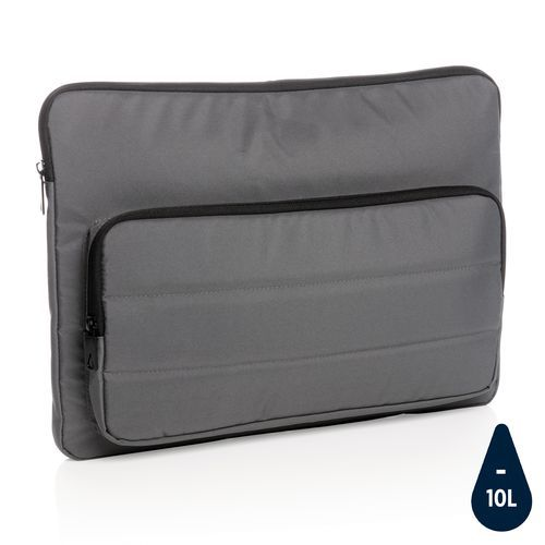 "Impact AWARE™ RPET 15, 6"" Laptop-Sleeve (anthrazit) (Art.-Nr. CA129744)"